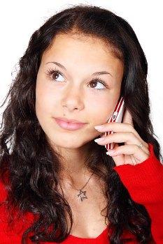 tjej ringer med fast pris